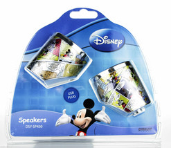 Quality disney mickey mouse mini speaker with USB MP3 NEW - $24.35 CAD