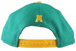 Crooks & Castles New Era Purple/Yellow or Khaki Chain C Snapback Hat image 5