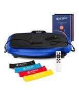 LifePro 3D Vibration Plate Exercise Machine - Dual Motor Oscillation, Pu... - $258.44