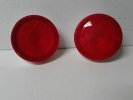 "2 x Grote 5267 52672 5267-2 Torsion Mount II Round Red 4"" Stop Tail Turn Lights image 1"