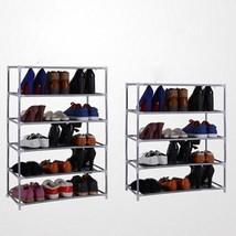 Shoes Shelf Storage Organizer Rack Holder House Hold Stands 2 Tier DIY S... - $29.22 CAD