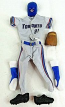 """Roger Clemens Baseball Doll Uniform Toronto Blue Jays 21 Outfit 12"""" Acce... - $69.29"""