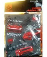 Innovative Designs DODGE VIPER Stretchable Fabric Book Cover New - $4.99