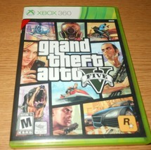 Grand Theft Auto V Microsoft Xbox 360 2013 Video Game TESTED COMPLETE with Map - $15.00