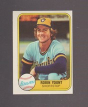 1981 Fleer # 511 Robin Yount Milwaukee Brewers NRMT - MINT - $0.99
