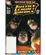 Justice League Of America JLA #0 Who's In? May 1997 DC Free Comic Book D... - $0.99