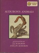 Audubon's Birds / Animals - J.J. & J.W. Audubon - HC 1966 - We Combine S... - $2.69