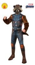 Rocket Raccoon Avengers Endgame Marvel Fancy Dress Up Halloween Adult Co... - $68.48