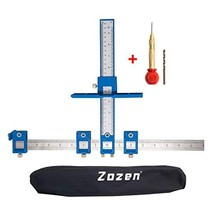 Cabinet Hardware Jig Zozen,Handles and Knobs Aluminum Alloy Drill Guide Sleeve D