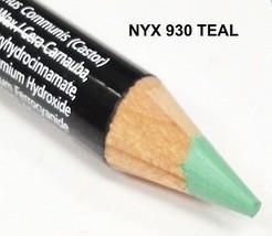 NYX 930  TEAL Eyeliner Eyebrow Pencil FULL SIZE - $3.65