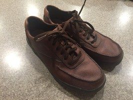 ROCKPORT Men's Shoes Size 9 Brown Leather Oxford APM22714 Casual Walking - $26.72