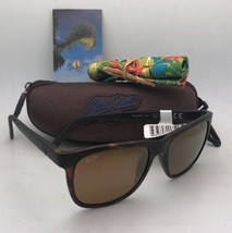 Polarized Maui Jim Sunglasses Tail Slide Mj 740-10CM Tortoise Black w/HCL Bronze - $249.95