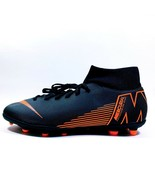 New Nike Mercurial Superfly 6 Club Soccer Cleats Orange Black AH7363-081... - $44.99