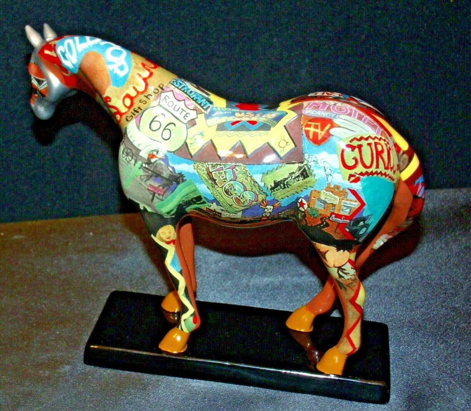 The Trail Of Painted Ponies #1460 Route 66 Westland Giftware AA-192000 Collecti