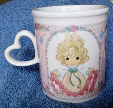 PRECIOUS MOMENTS by Enesco Coffee Cup Mug You Have Touched So Many Heart... - $6.45