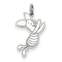 Disney Piglet Charm Pendant 14k White Gold Disney Collection - $111.02
