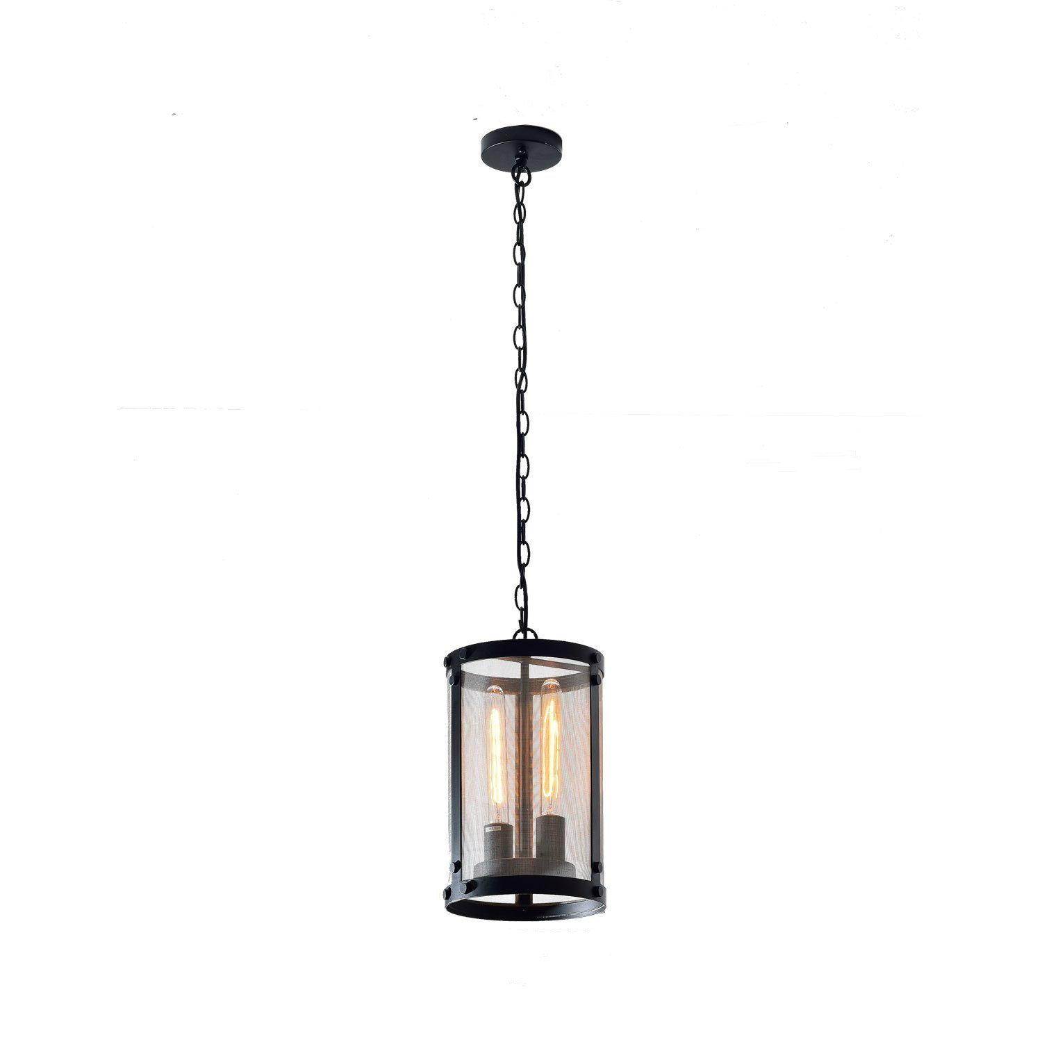 Vintage black industrial pendant light chandelier lighting chandeliers ceiling fixtures - Light fixtures chandeliers ...