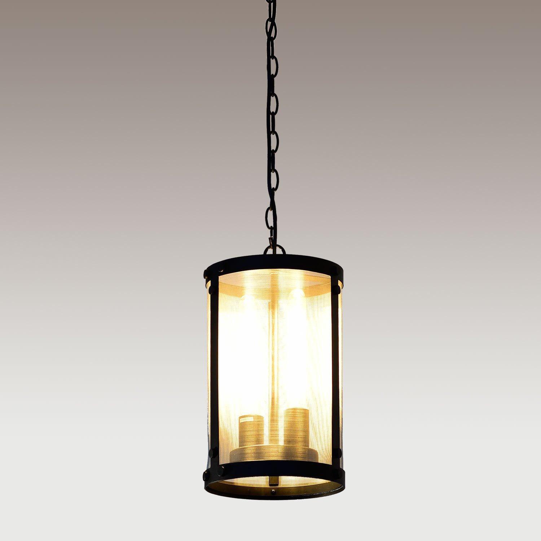 Chandeliers Pendant Lights: Vintage Black Industrial Pendant Light Chandelier Lighting