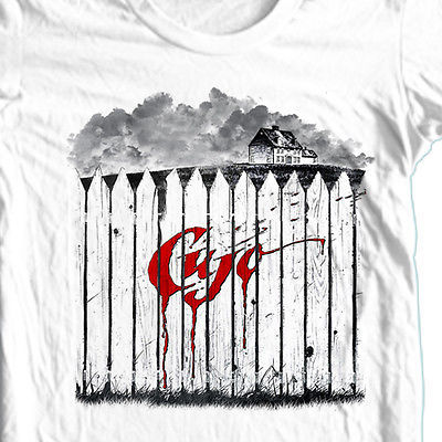 Cujo T shirt retro 80's horror movie Stephen King 100% cotton graphic tee