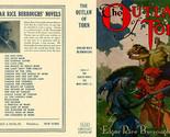 Burroughs, Edgar Rice. THE OUTLAW OF TORN facsimile dust jacket  1st Grosset Ed.