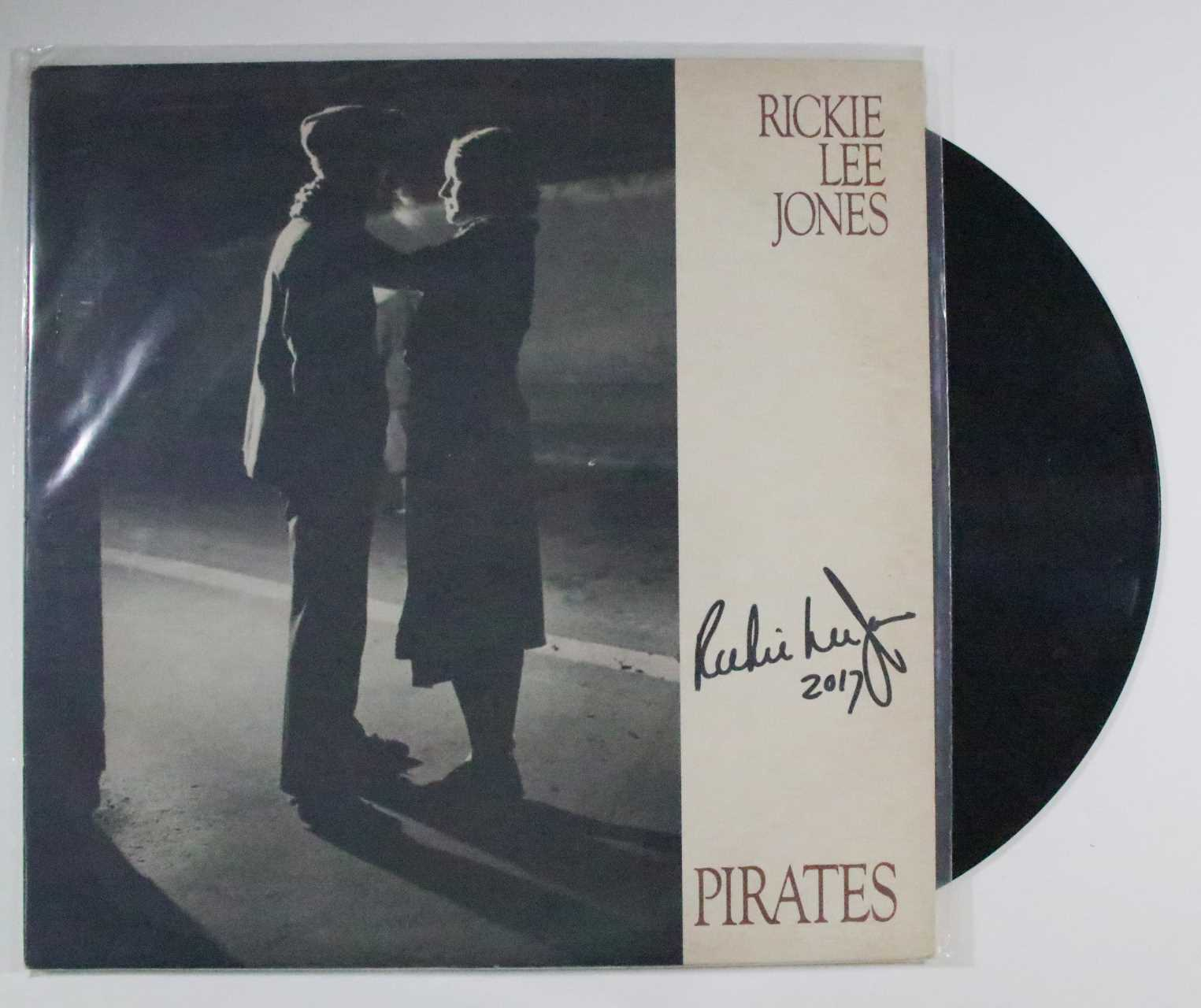 "Primary image for Rickie Lee Jones Signed Autographed ""Pirates"" Record Album"
