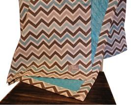 Custom Zoom Zoom Border Crib Blanket by Baby Bu... - $92.00