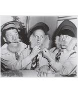 3 Stooges Beards Moe Larry Curly Vintage 8X10 BW TV Memorabilia Photo - $4.99