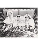 3 Stooges Bed Moe Larry Curly Vintage 8X10 BW TV Memorabilia Photo - $4.99