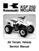 2000 2001 2002 Kawasaki KSF250 KSF 250 Mojave ATV Shop Service Repair Ma... - $8.99