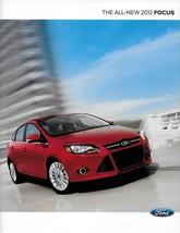 2012 Ford FOCUS sales brochure catalog US 12 SE SEL Titanium - $6.00