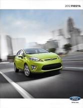 2012 Ford Fiesta Sales Brochure Catalog Us 12 Se Sel Ses - $6.00