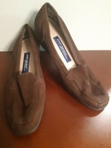 Easy Spirit Anti Gravity Shoes Brown Suede Treasure Womens Size 8.5 B Leather - $22.72
