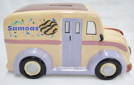 Girl Scout Samoas Cookies Bank 40th Birthday Figural Delivery Truck Coll... - $29.98