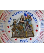 1978 Calendar Birth Year Plate Spencer Gifts On... - $16.99