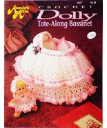 Annie's Dolly Tote-Along Bassinet Crochet Patte... - $23.00