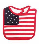 StylesILove Patriotic US American Flag Waterproof Baby Feeding Bib - 0-1... - $6.92