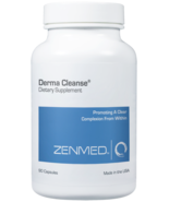 Derma cleanse capsules 90caps front thumbtall