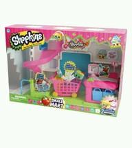 Shopkins Supermarket Playset Girls Grocery Pink Small Shop Mart Toy Set ... - $72.93