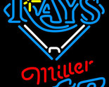 Miller lite mlb tampa bay rays neon sign 16  x 16  thumb155 crop