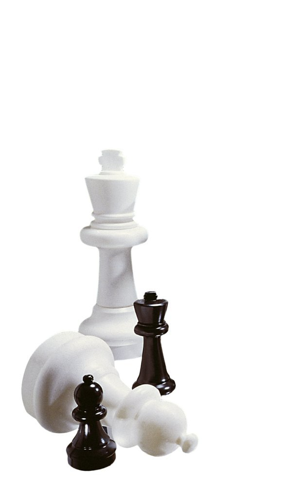 Basic garden chess pieces chessmen other chess - Simple chess set ...