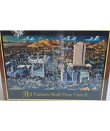 2004 Dowdle Folkart ~ Temple Square ~ 500 Piece JIgsaw Puzzle ~ New Seal... - $29.95