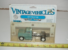 Ertl Diecast Metal Vintage Vehicles 1960 Chevy Cab Chevrolet Truck 1/43 ... - $19.59