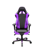 DXRacer OH/RV001/NV High-Back Racing Style Office Chair Vinyl+PU(Black/V... - $359.00