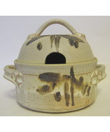 Studio Art Pottery Casserole Dish Lidded Hand Thrown Signed - $75.73