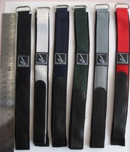 Extra Long Watch Bands Nylon Webbing Wellcrow tape SSNXL-001 Lug Size 22MM - $11.14