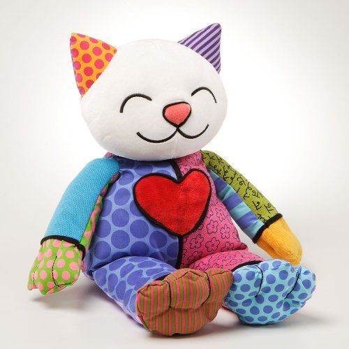 Britto by Internationally Acclaimed Artist Romero Britto for Enesco Kitty Plush
