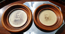 Antique Collectibles: A pair framed photographs C.19thC - $73.33