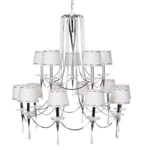 Primary image for Hampton Bay Halina 15 Light Chandelier 14790-027