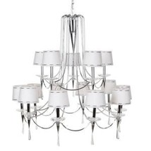 Hampton Bay Halina 15 Light Chandelier 14790-027 - $217.80