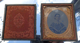 Antique Collectibles: Ambrotype in Case C.19thC - $56.24